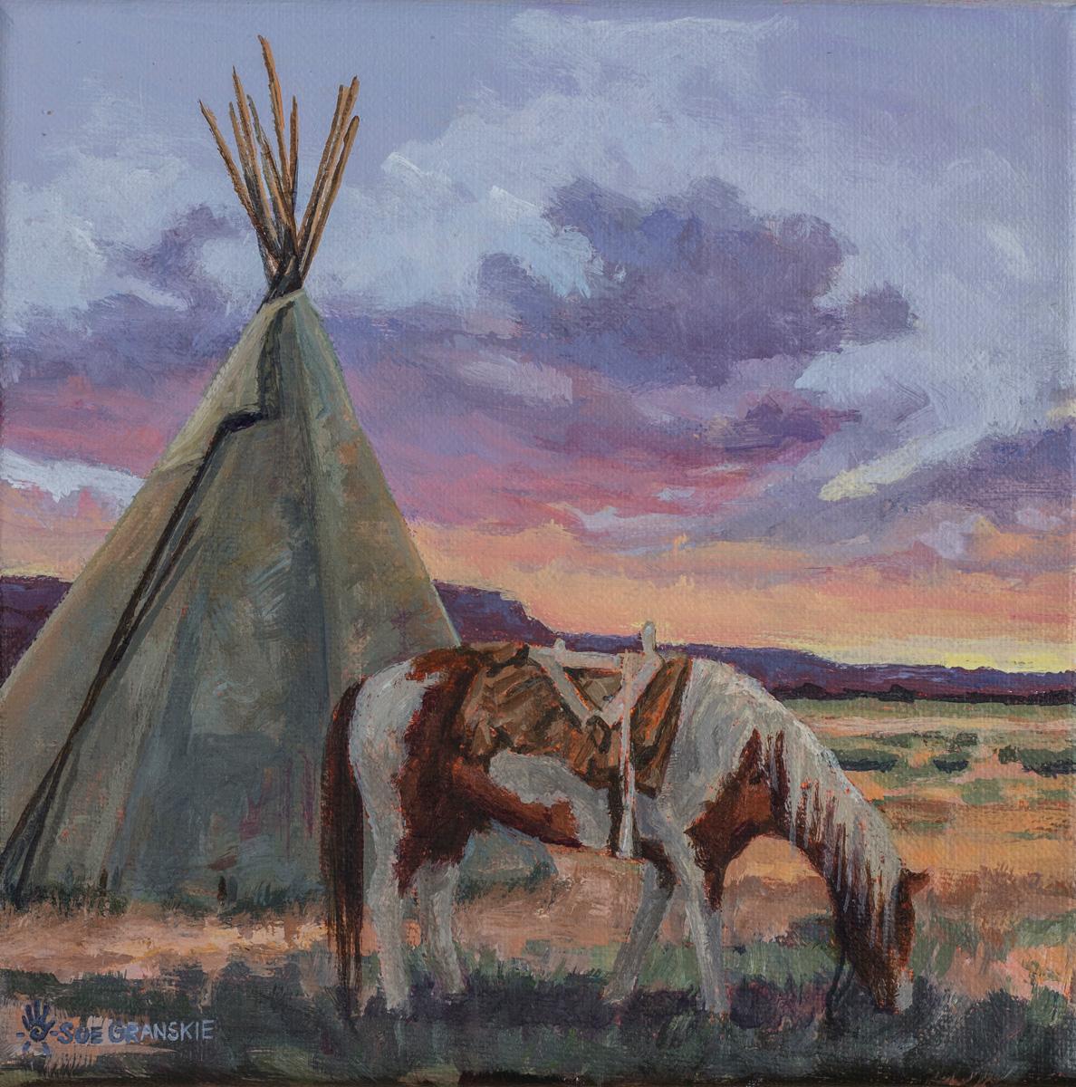 Indian Horse Sue Granskie Art